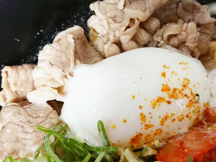 麺家 温玉と牛肉