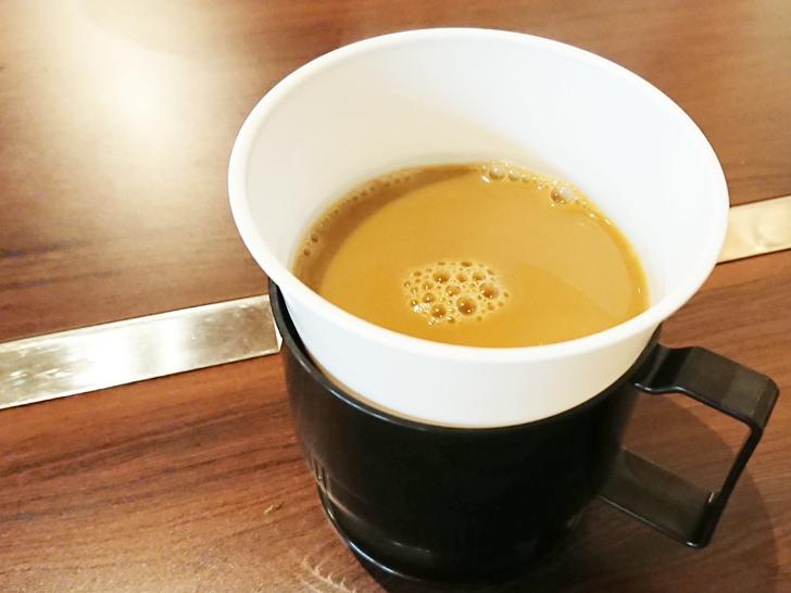 天神橋2丁目食堂 サービスのコーヒー