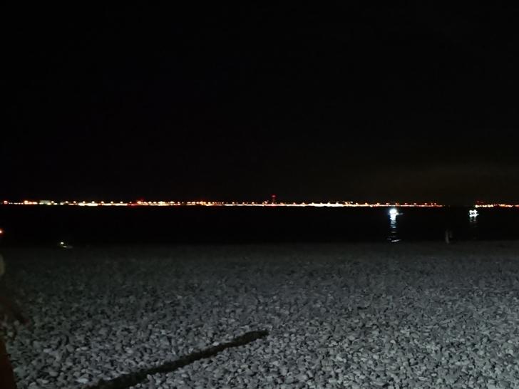 りんくうマーブルビーチ 夜のイルミネーション