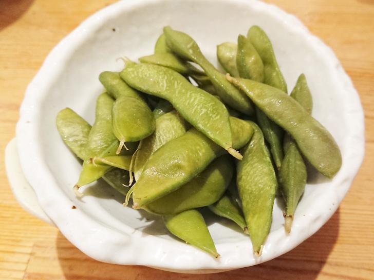 地魚屋台 とっつぁん 枝豆