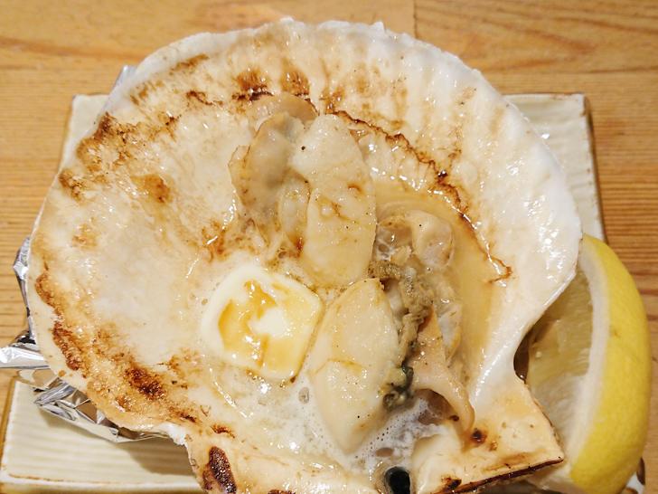 地魚屋台 とっつぁん ホタテ貝バター焼