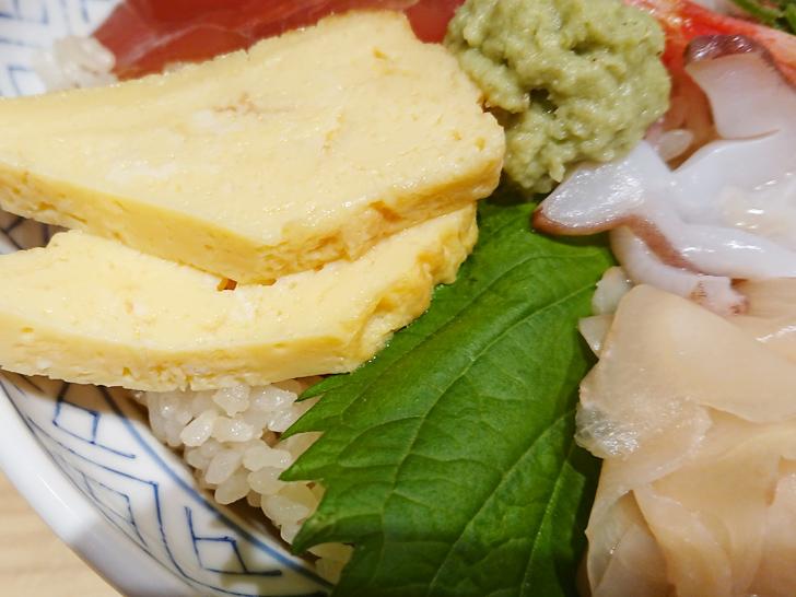 杉玉京橋店の海鮮丼のネタを紹介