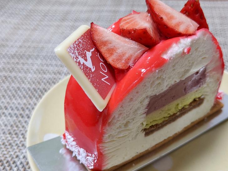 LA PATISSERIE KATSURAのベリーのムースのケーキ