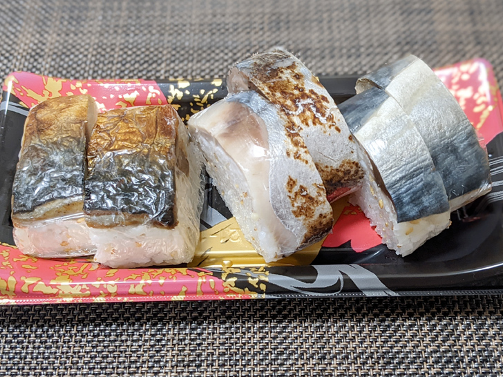 SABARのさば寿司盛り合わせ1,380円をテイクアウト